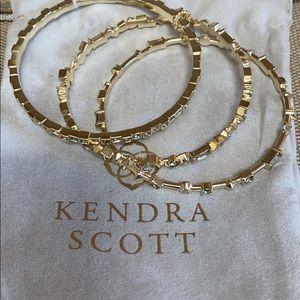 Jewelry - Kendra scott gold bracelet set